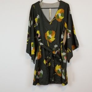 NWT Uncle Frank floral BOHO dress size M